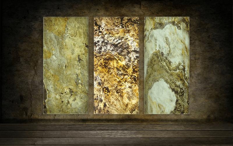 Revestimientos de pared de piedras